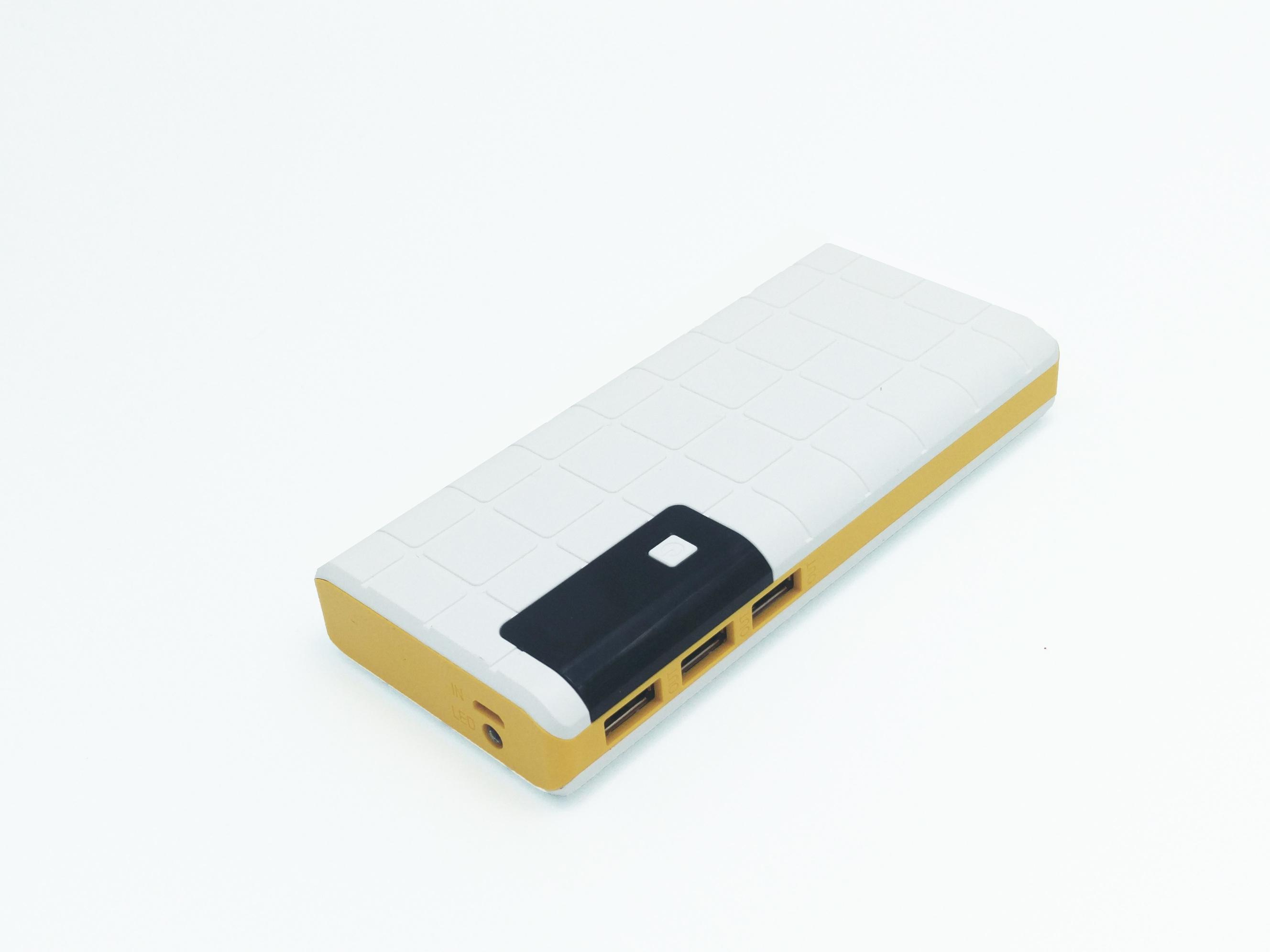 Baterie Externa Power Bank 12000 mah Baterie Urgenta Cu 3 USB
