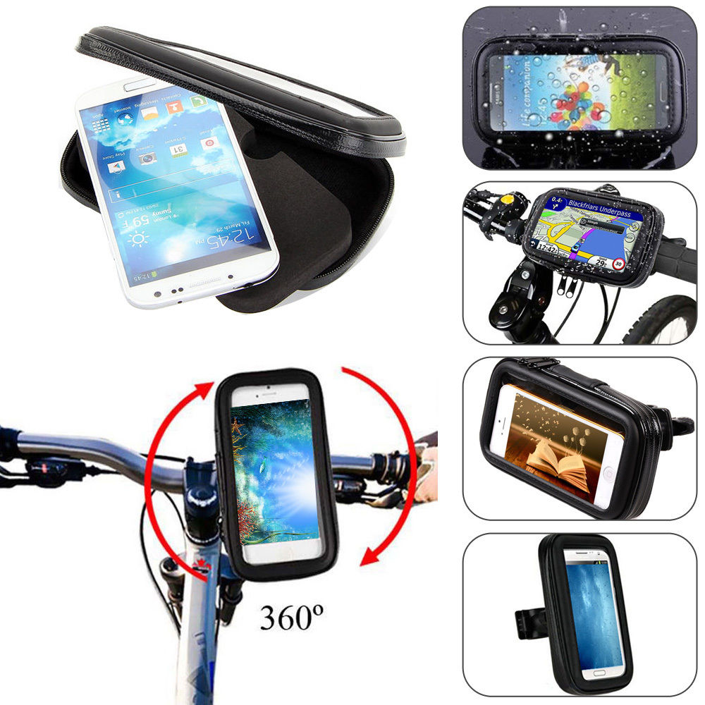 Suport Telefon Universal XXL pt Bicicleta – Motocicleta  Impermeabil