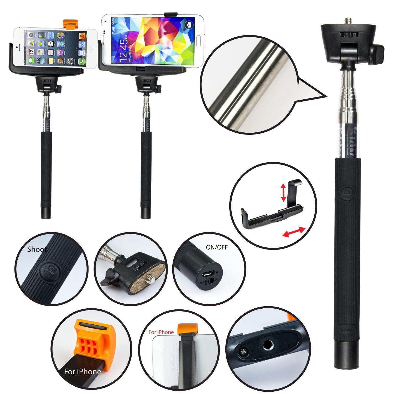 Selfie stick telefon Z07-5 Bluetooth  extensibil 100cm