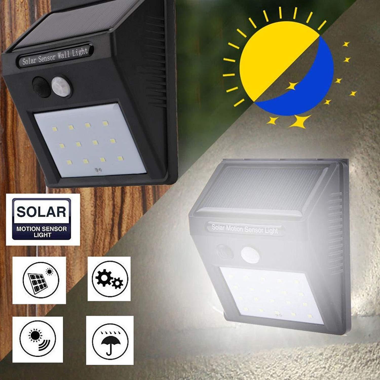 Lampa cu LED incarcare solara si senzor de miscare 12 x LED