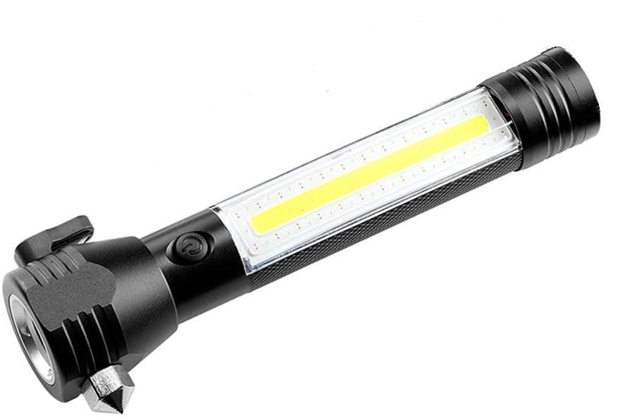 Lanterna LED de Urgenta Auto Reincarcabila Cu Cutter si Ciocan