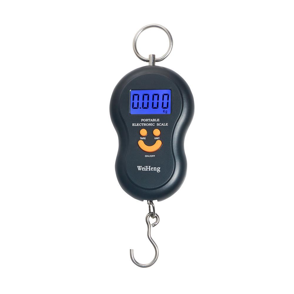 Cantar electronic 40kg MRG P339, Negru, Portabil, Ecran LCD