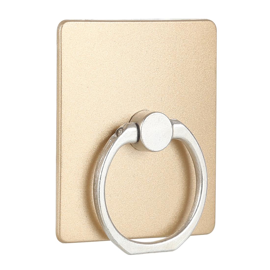 Suport pentru telefon tip inel MRG L343, Gold, Rotire 360 grade