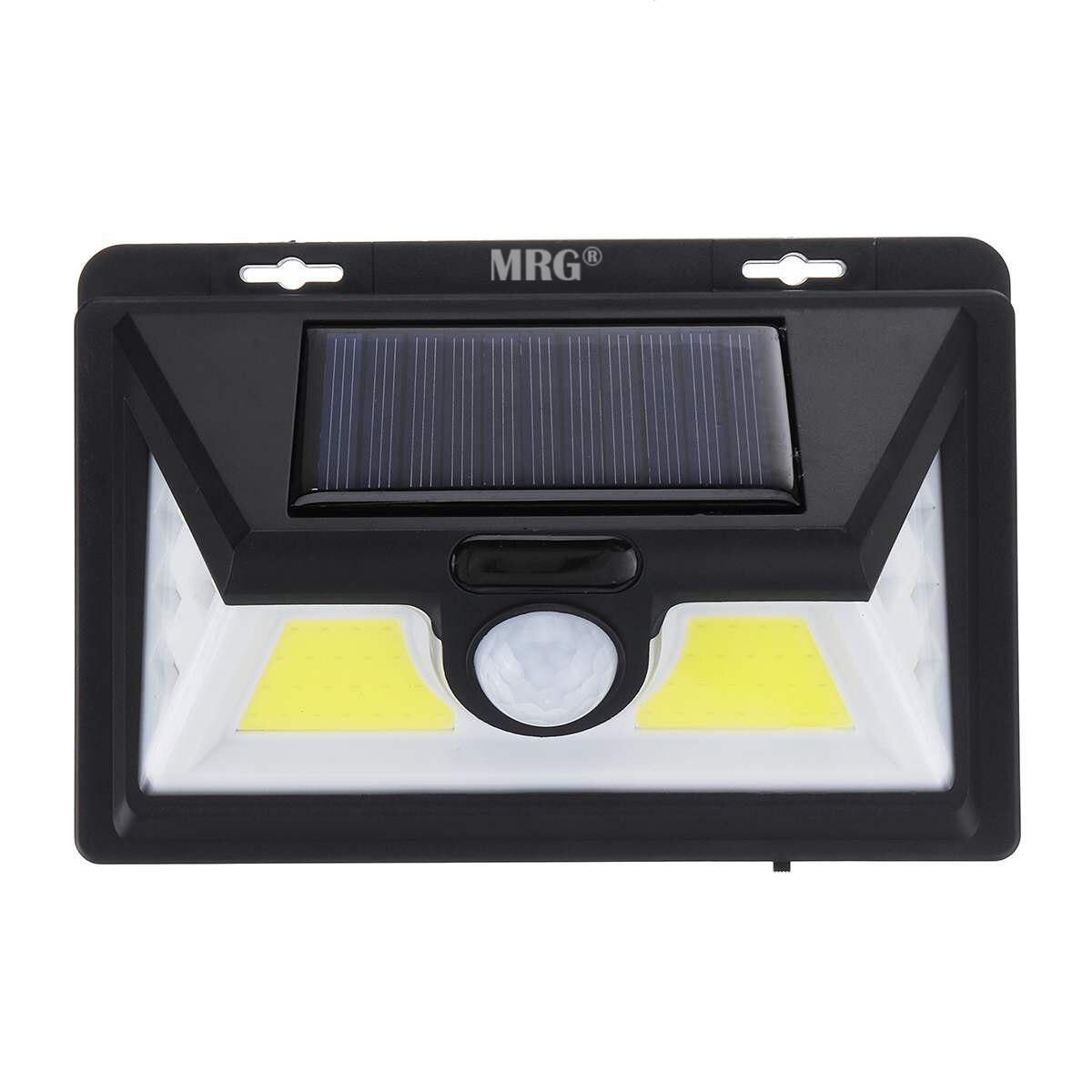 Panou Led Solar MRG A-1828B, Incarcare solara, COB + SMD, Senzor miscare