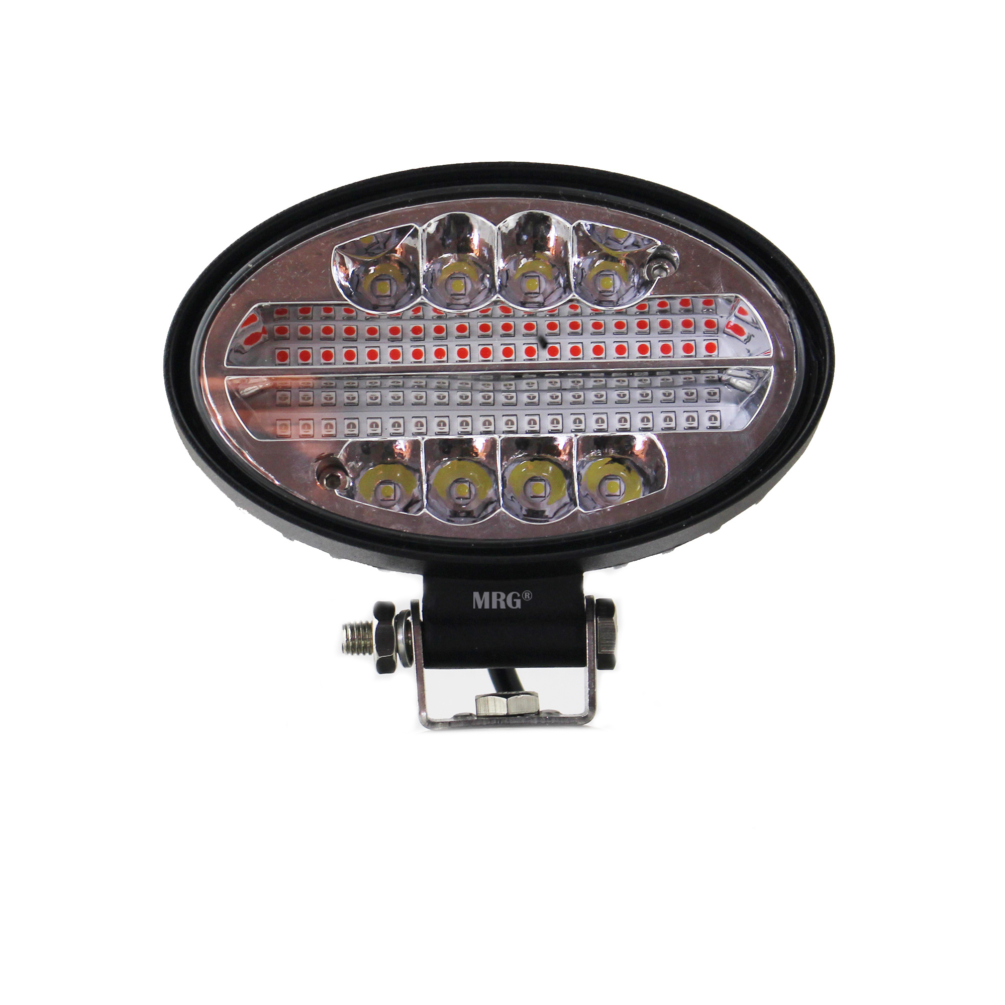 Proiector Auto Offroad MRG M-482, 48 LED, 144 W, LED Rosu / Alb