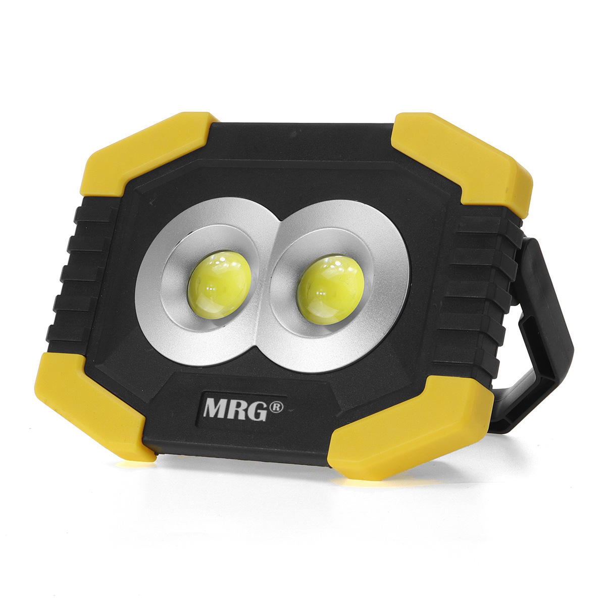 Proiector LED MRG M-T-917B, Portabil, Cu baterii, Cu lanterna