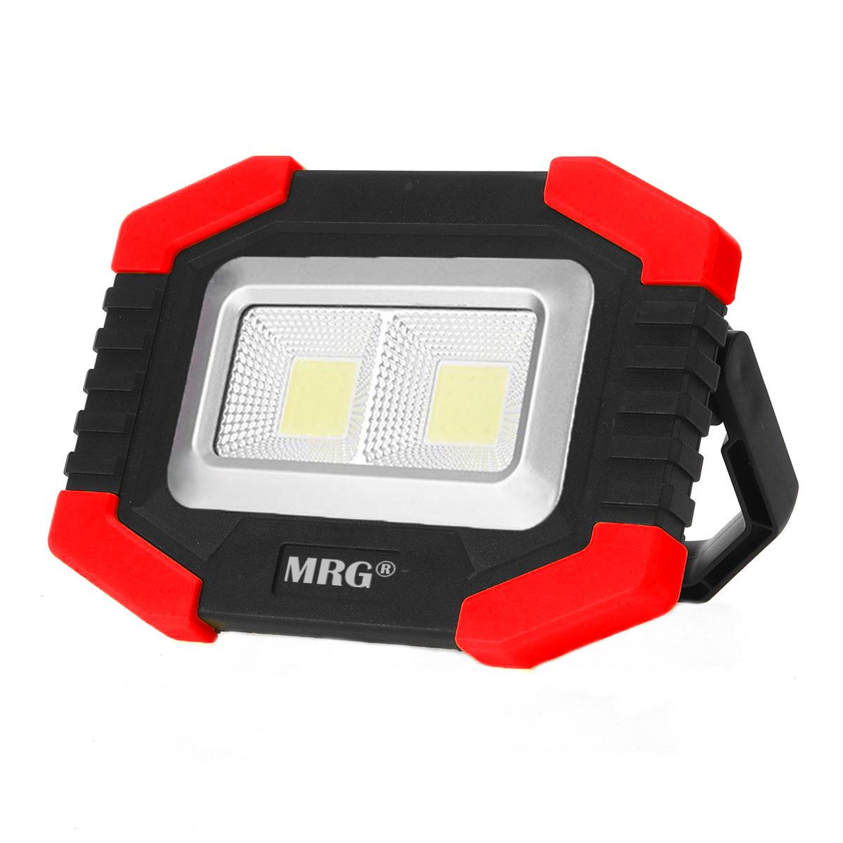 Proiector LED MRG M-T-917A, Portabil, Cu acumulator, Reincarcabil