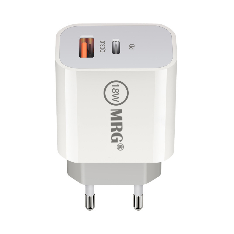 Incarcator Retea MRG M-JX-610, 18 W, USB PD Type-C, Cablu MicroUSB inclus
