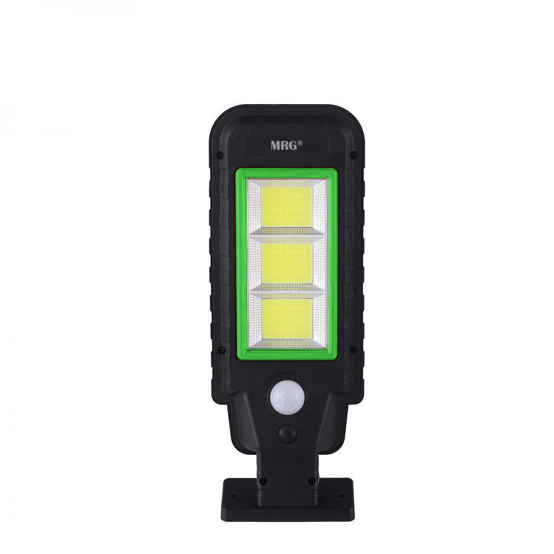 Lampa solara stradala MRG A-HS-8011D, Panou solar, 120 LED, Negru