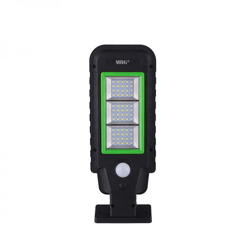 Lampa solara stradala MRG A-HS-8011A, Panou solar, 60 LED, Negru