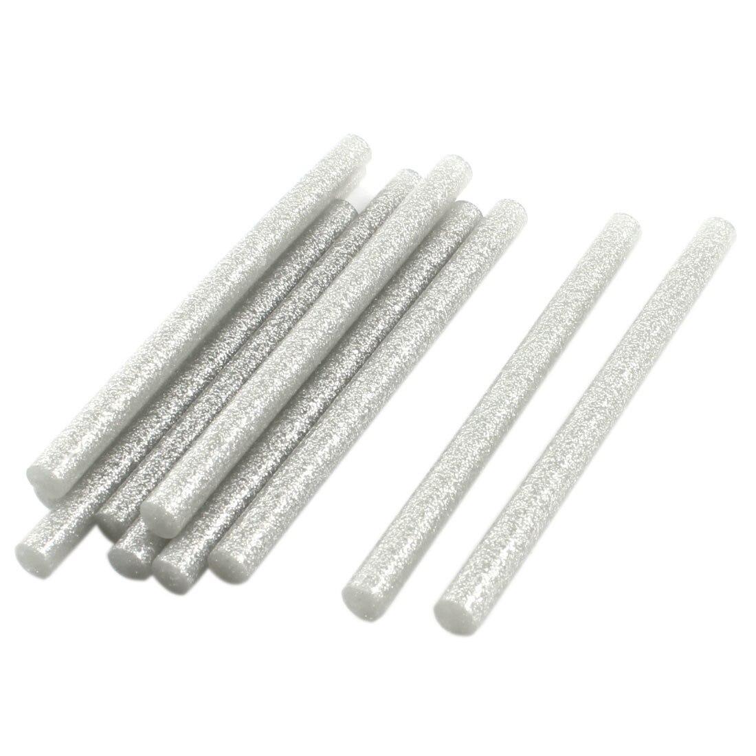 Set 10 rezerve silicon 11mm MRG M-419, Lungime 20cm, Gri