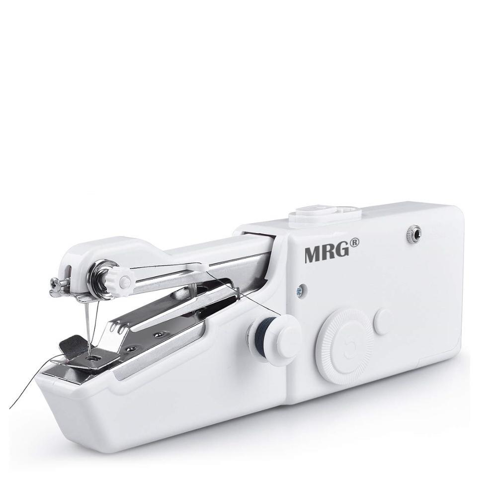 Masina de cusut MRG M-CS-101B, Portabila, Compacta, Alb