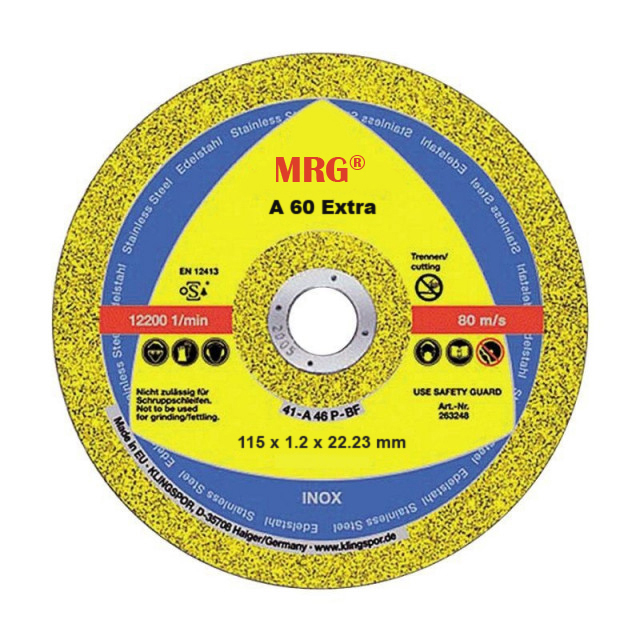 Set 25x Disc Flex MRG M-A60, 115 x 1.2 x 22.23, A 60 Extra, 12200 rot/min