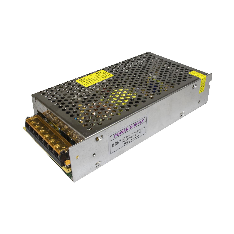 Sursa alimentare MRG MS60, 12V – 5A, 60W, Carcasa metalica