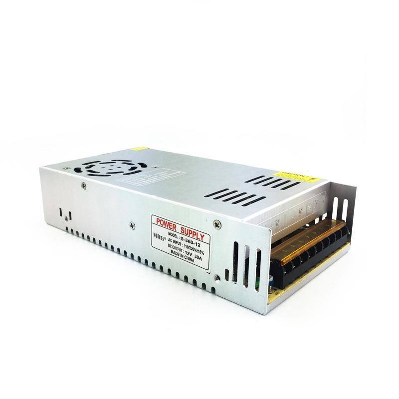 Sursa alimentare MRG MS360, 12V – 30A, 360W, Carcasa metalica