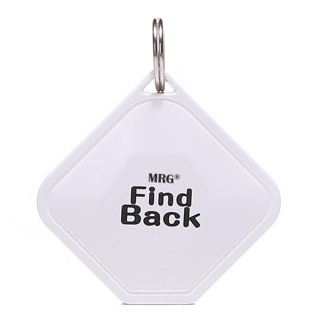 Breloc antipierdere MRG M563, Bluetooth, Detectie in ambele sensuri, Alb