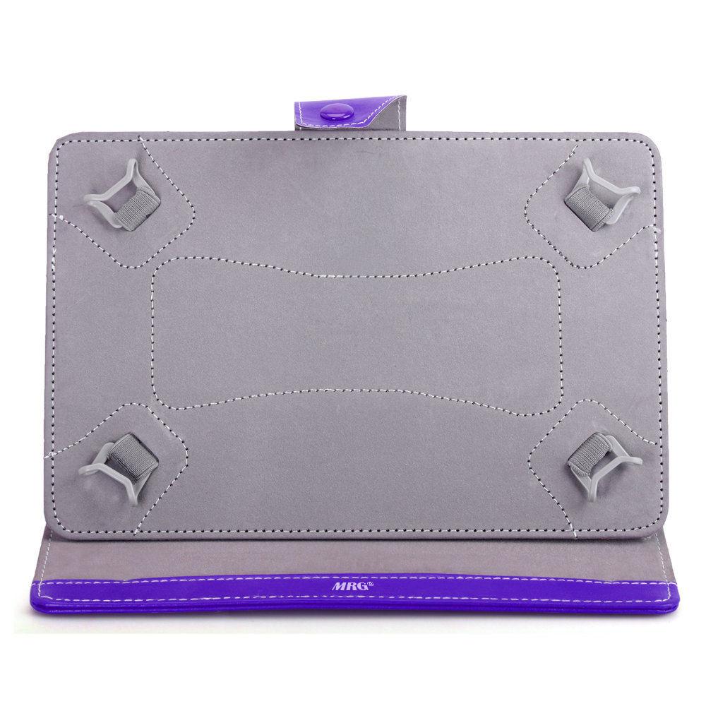 Husa tableta MRG M568, 10 inch, Tip mapa, Prindere 4 cleme, Mov