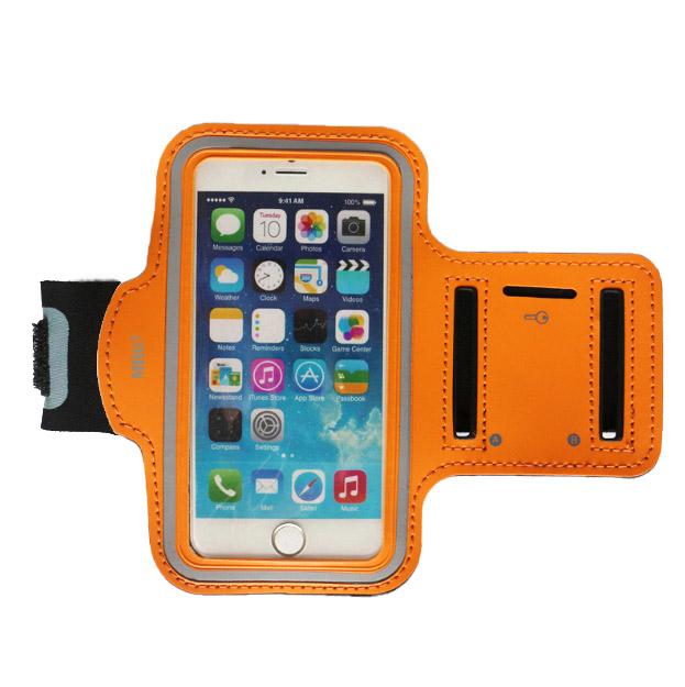 Husa telefon MRG M589, Pentru brat, 5.5 inch, Portocaliu C590