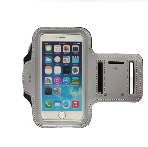 Husa telefon MRG M589, Pentru brat, 5.5 inch, Gri C591