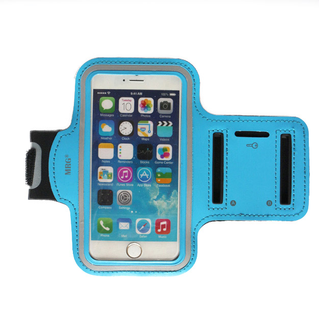 Husa telefon pentru brat M592 4.7inch Albastru