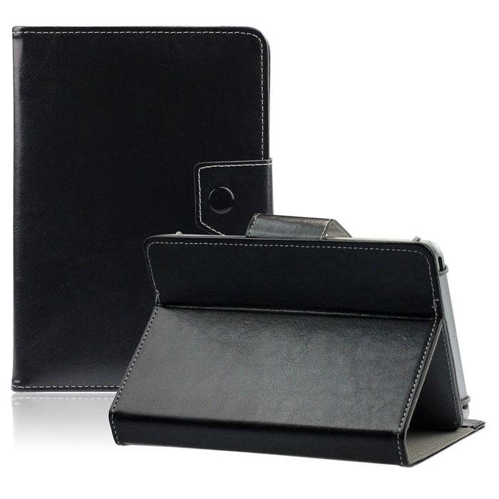 Husa Tableta 8 Inch Model X , Negru , Tip Mapa , Prindere 4 Cleme