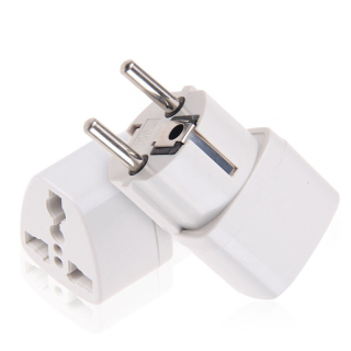 Adaptor Stecher Priza, UK, USA la EUROPA Romania 16A cu Impamantare